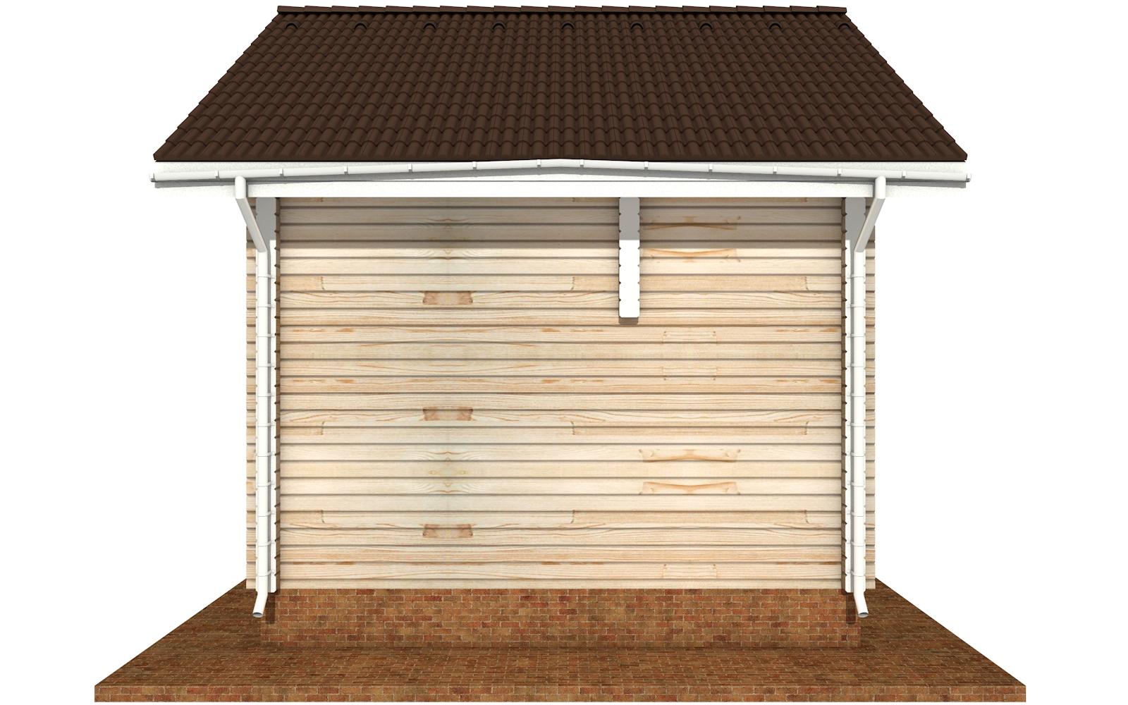 Фото #10: деревянный дом ПДБ-64 из клееного бруса купить за 7080194 (цена «Под ключ»)