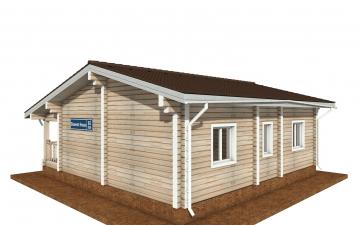 Фото #4: деревянный дом ПДБ-65 из клееного бруса купить за 8011498 (цена «Под ключ»)