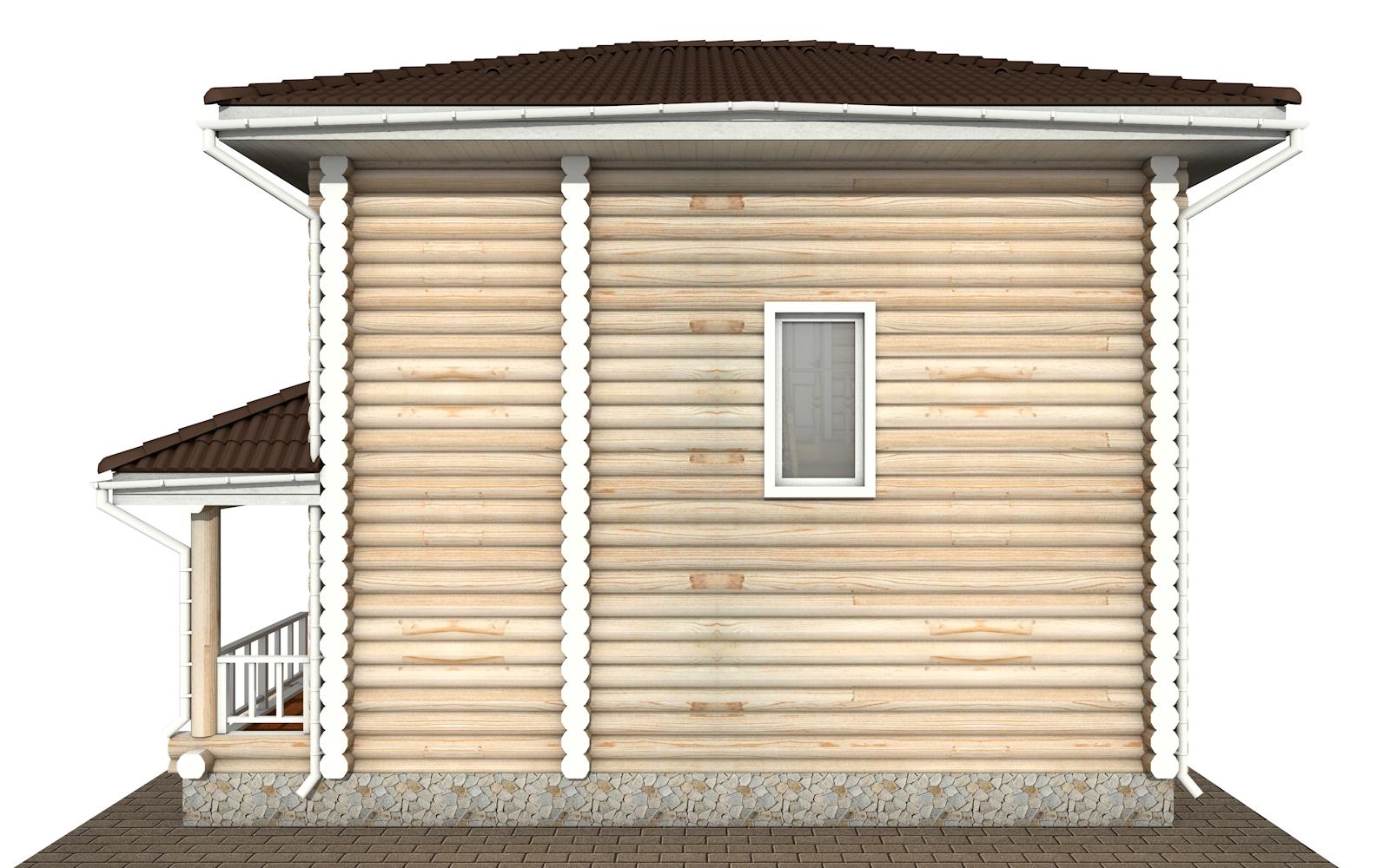 Фото #10: Красивый деревянный дом РС-149 из бревна