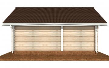 Фото #10: деревянный дом ПДБ-69 из клееного бруса купить за 8728012 (цена «Под ключ»)