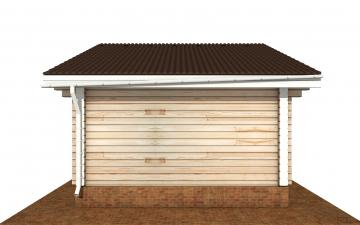 Фото #10: деревянный дом ПДБ-70 из клееного бруса купить за 5880759 (цена «Под ключ»)