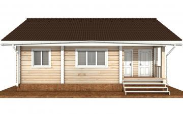 Фото #8: деревянный дом ПДБ-72 из клееного бруса купить за 6031949 (цена «Под ключ»)