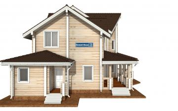 Фото #8: деревянный дом ПДБ-73 из клееного бруса купить за 30945613 (цена «Под ключ»)