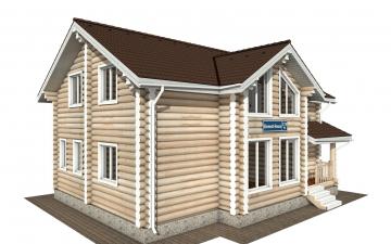 Фото #2: Красивый деревянный дом РС-178 из бревна