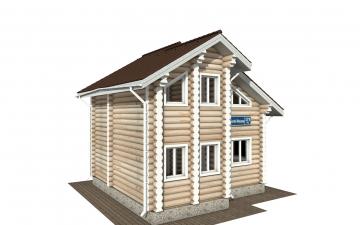Фото #5: Красивый деревянный дом РС-179 из бревна