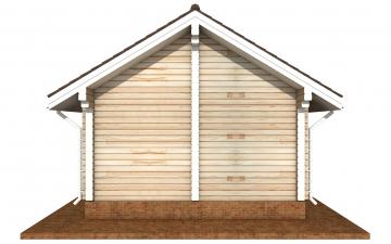 Фото #9: деревянный дом ПДБ-72 из клееного бруса купить за 6031949 (цена «Под ключ»)