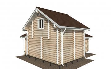 Фото #6: Красивый деревянный дом РС-180 из бревна
