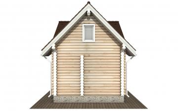 Фото #9: Красивый деревянный дом РС-181 из бревна