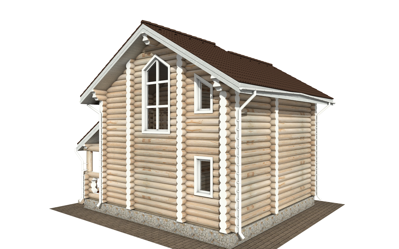 Фото #6: Красивый деревянный дом РС-179 из бревна