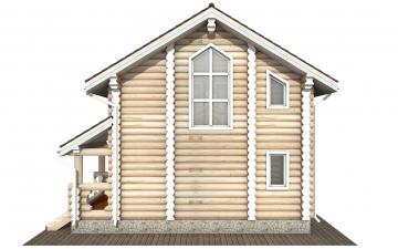 Фото #9: Красивый деревянный дом РС-179 из бревна