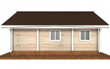 Фото #10: деревянный дом ПДБ-72 из клееного бруса купить за 6031949 (цена «Под ключ»)
