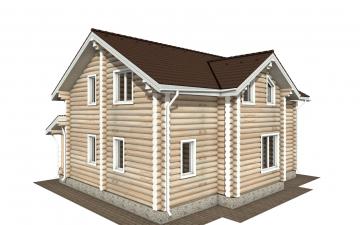 Фото #4: Красивый деревянный дом РС-178 из бревна