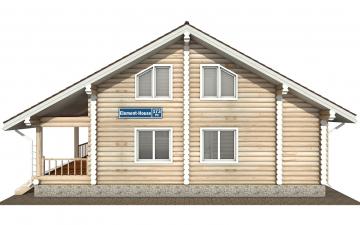 Фото #7: Красивый деревянный дом РС-173 из бревна