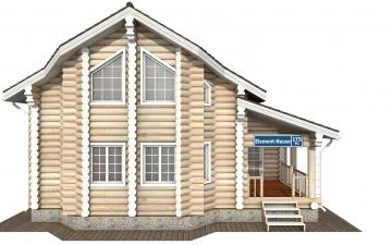 Фото #7: Красивый деревянный дом РС-175 из бревна