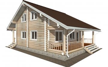 Фото #6: Красивый деревянный дом РС-173 из бревна