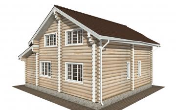 Фото #6: Красивый деревянный дом РС-175 из бревна