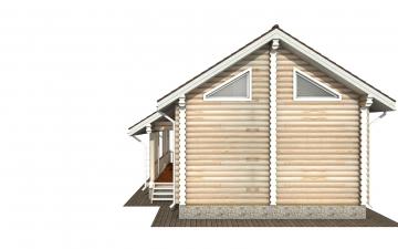 Фото #9: Красивый деревянный дом РС-174 из бревна